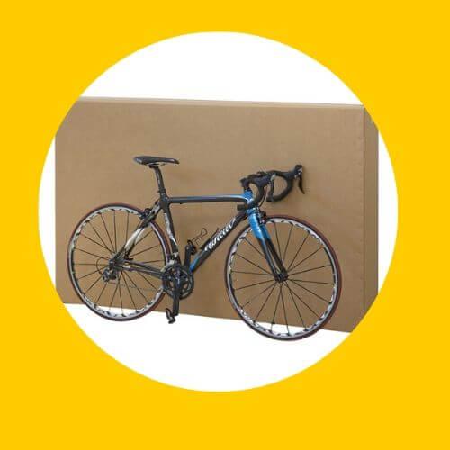 scatole per spedizioni - biciclette
