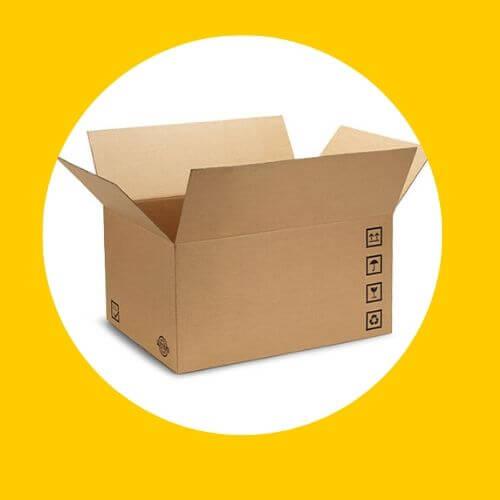 scatole per spedizioni - scatole due onde